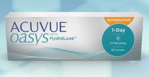 ACUVUE OASYS® 1-Day for ASTIGMATISM  180 pce