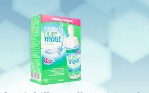 OPTI FREE pure moist  2x 300ml + étui