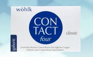 Wöhlk Contact Four 6er Box für Minuswerte Radius 8,60 / 8,90