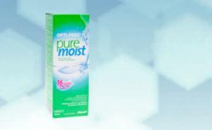 Opti-Free pure moist 300ml + étui