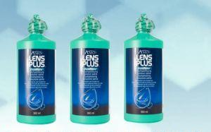 Lens Plus OcuPure Saline 3x360 ml