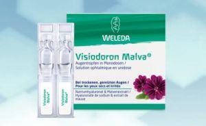 Visiodoron Malva® Weleda Solution ophtalmique 20 Monodoses 0.4ml