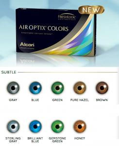 Air Optix Colors 2 pce
