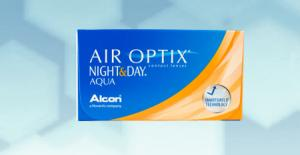 Air Optix Aqua Night & Day (6 pièce)
