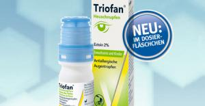 TRIOFAN gouttes oculaires antiallergiques Flacon 10ml