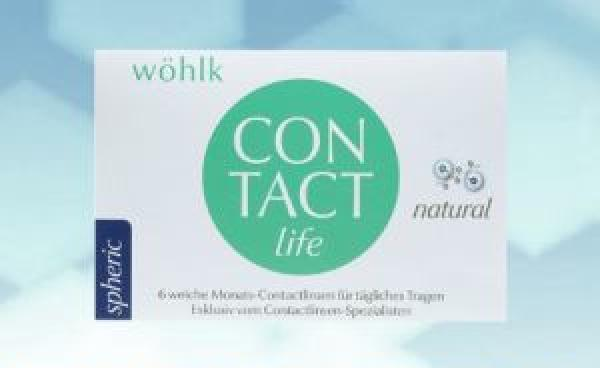 Wöhlk Contact Life 6er Box für Pluswerte (Radius 8,8)
