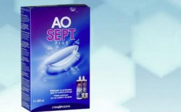 Aosept Plus 2x360ml incl. 2 étuis