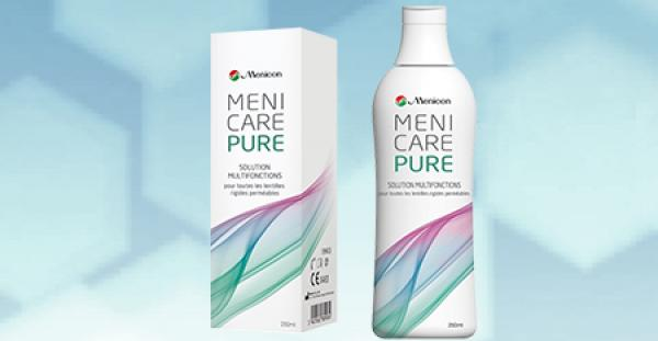 MeniCare Pure Solution  250ml avec étuis