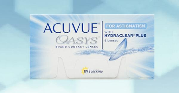 Acuvue Oasys for Astigmatism (6 pièce)