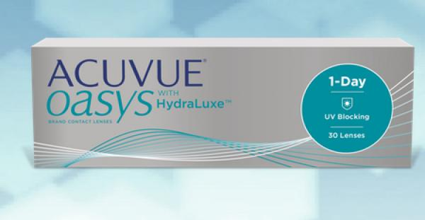 ACUVUE OASYS 1-Day HydraLuxe 90er Box