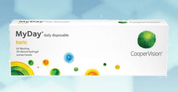 MyDay daily disposable toric 90er pce