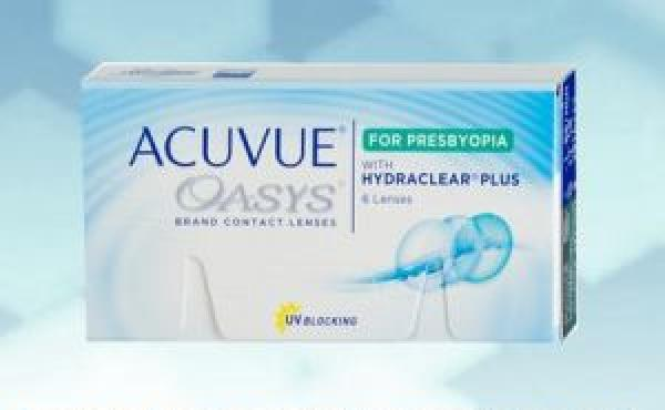 Acuvue Oasys for Presbyopia 6 pièce