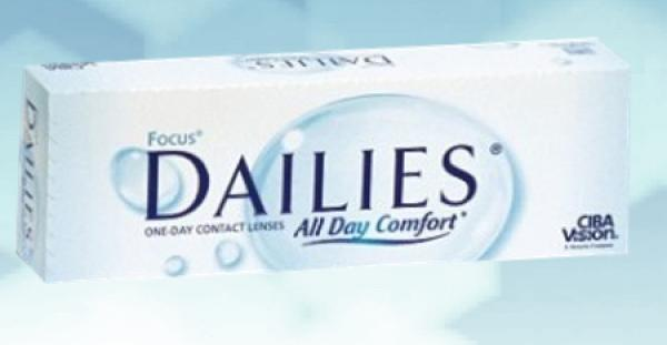 Focus Dailies All Day Comfort 180 pce