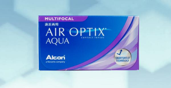 Air Optix Aqua Multifocal (6 pièce)